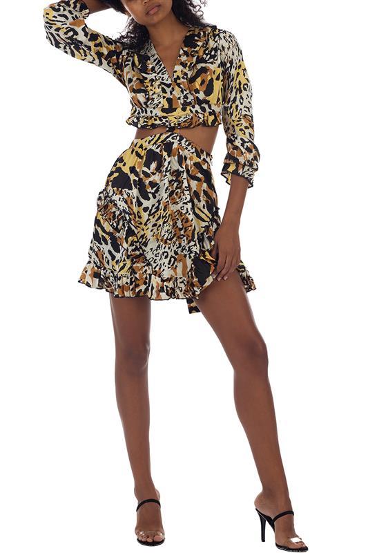 Tier Me Roar Dress