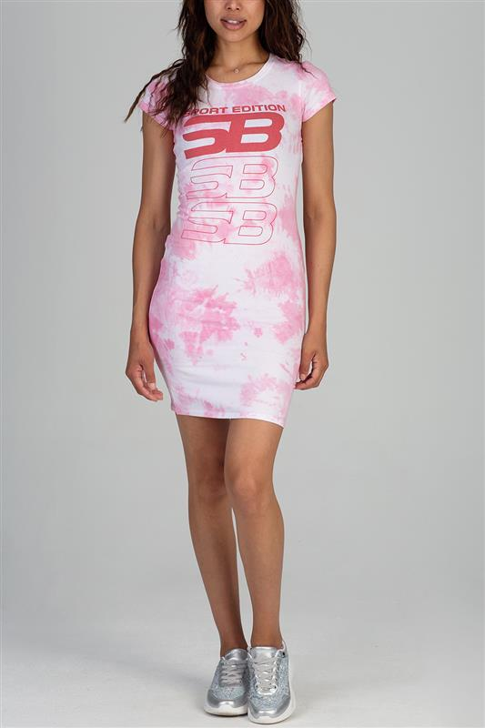 Sissyboy Sport: Tie Dye Logo Dress