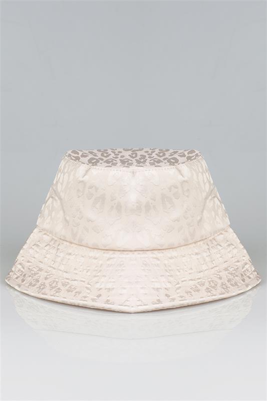 Satin Printed Bucket Hat