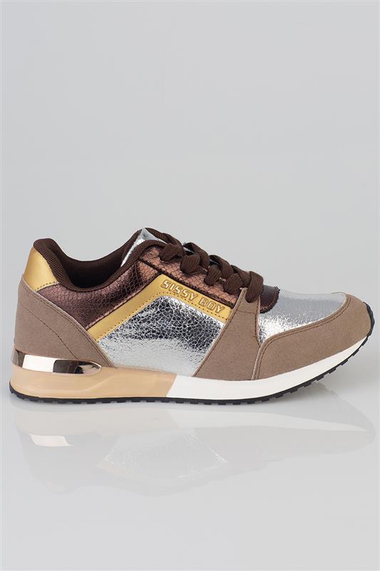 Golden Hour - Bronze Metallic Sneaker
