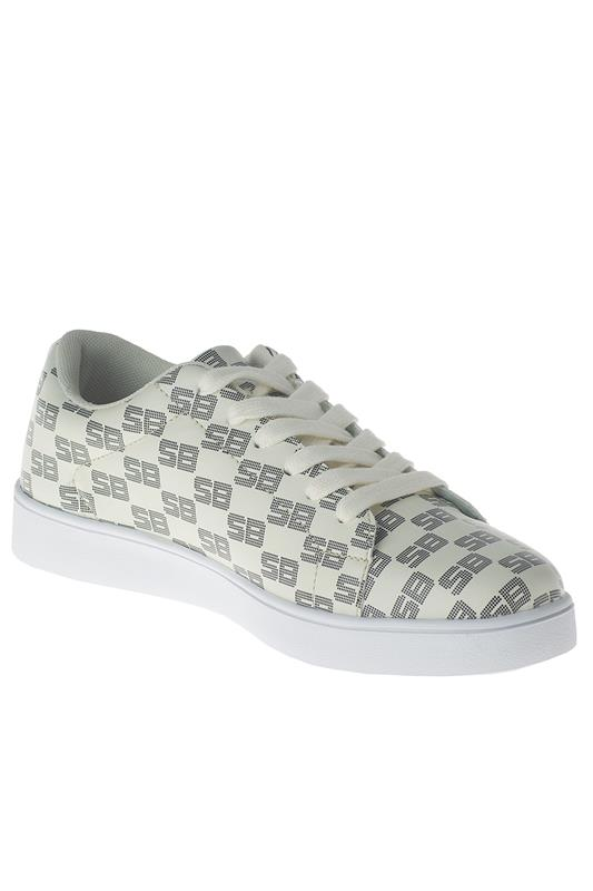 Style On Repeat - Dotted Sb Repeated Print Sneaker