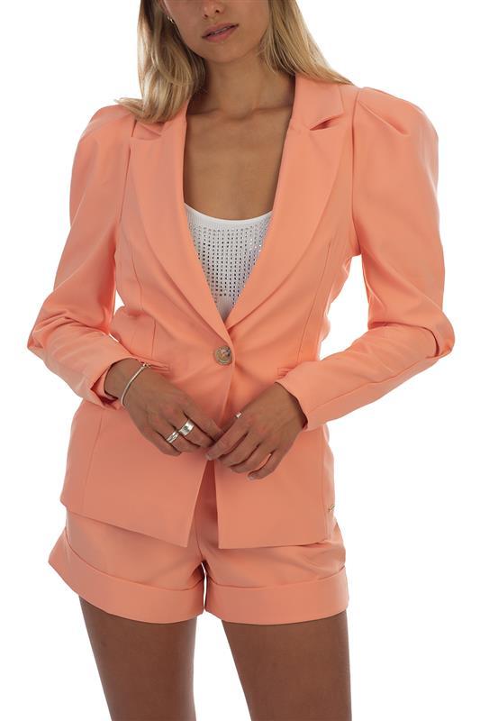 Girl Boss: Fashion Blazer With Puffy Sleeve - SET