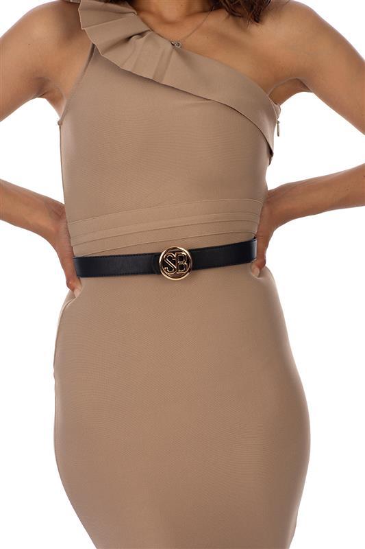 Skinny Belts With Round Sb Hardware