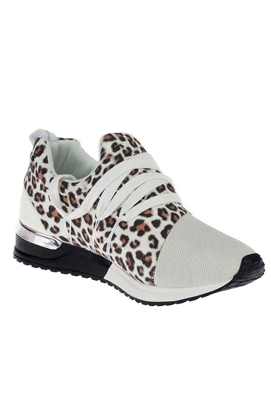 Creeper Animal Print Sneaker