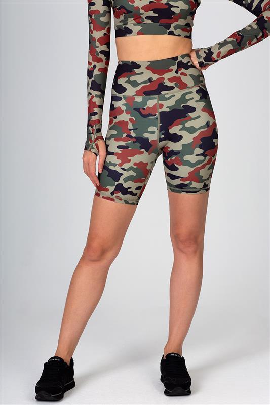Sissyboy Sport: Camo Printed Cycling Shorts