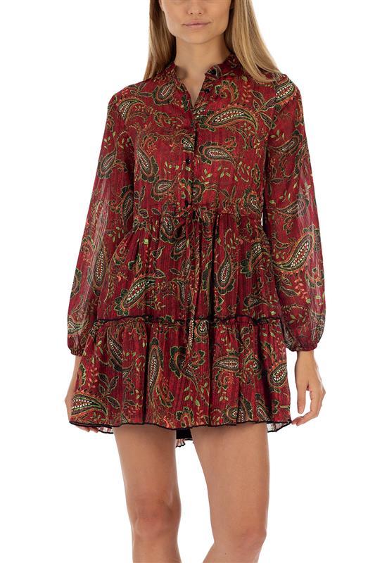 Get Growing button Up Mini Dress