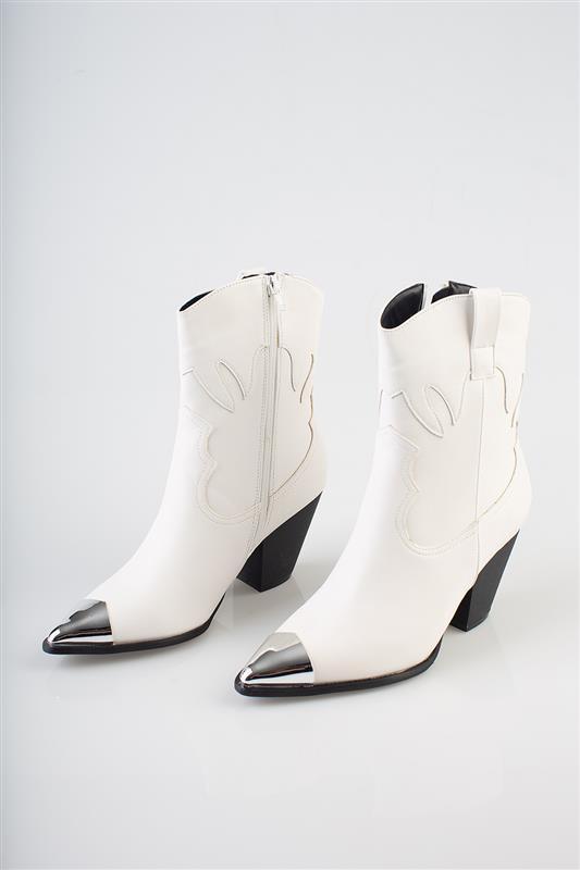 Walk This Way Gold Cowboy Boot