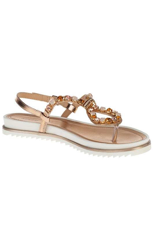 Bling All The Way Jewelled Thong Sandal