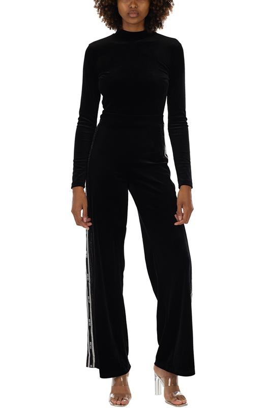 Full Package Mixed Jumpsuit