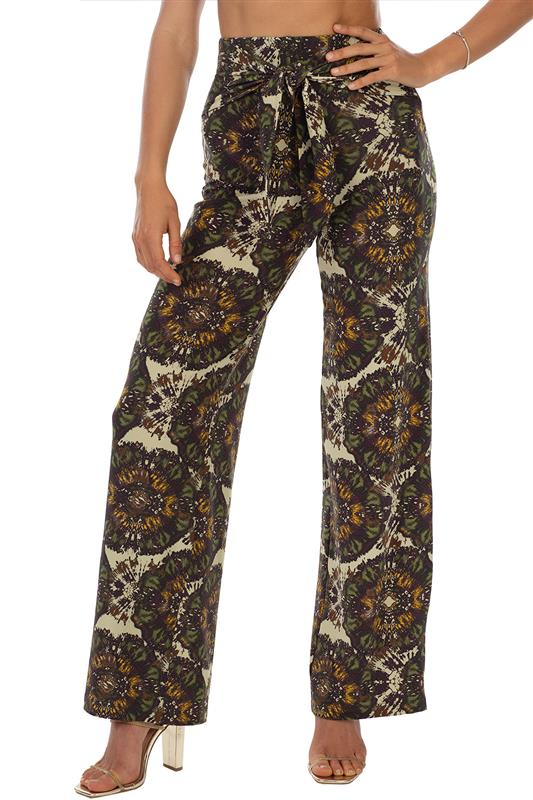 Affair Pant With Front Tie