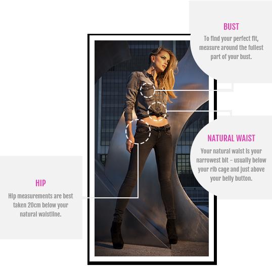 Size guide sissy boy jeans